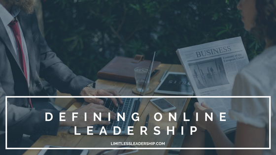 Defining Online Leadership in Today's World