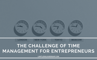 The Challenge of Time Management for Entrepreneurs